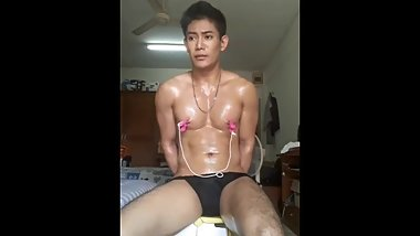 Asian boy nipple tortured part 2