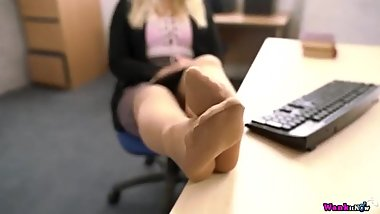 Sexy Office Pantyhose