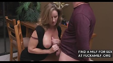 Son Wants To Fuck Those Mommy Tits
