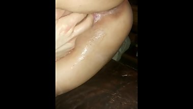 Thick PAWG Wife Finger Fucked Till She Squirts Close Up