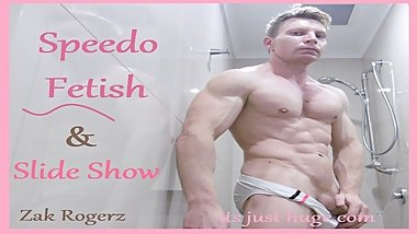 Speedo Speedos Fetish Flex Video + Slide Show