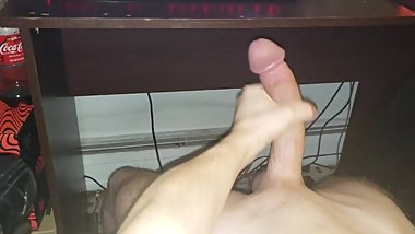 Stroking My Cock For Lots Of Thick Cum