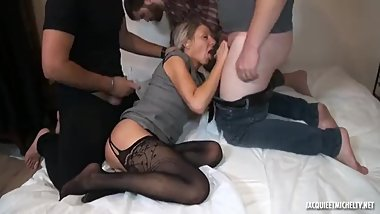 Jenny the old french milf gets fucked!