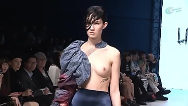 Nude Fashion Show