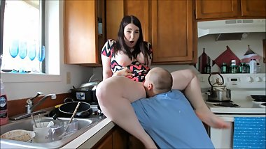 Busty Slut Fucks The Maintenance Man