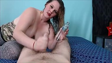 I Know You Want Her (Oil Handjob)