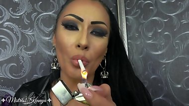 Mistress Kennya: Chain smoking with Me and Mistress Sheyla