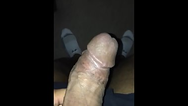 Big black dick waking up in the morning