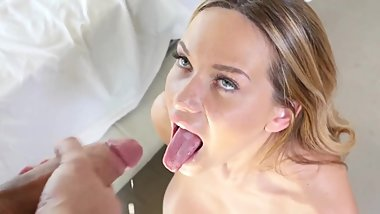 Compilation Cum in Mouth, Facial, Girls Licking and Kissing