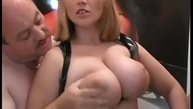 Chubby German Teen Gangbang
