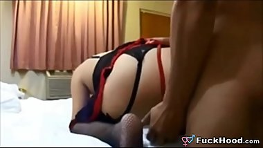 Big Booty Mature Slut Dicked In Her Ass And Cooze &amp_ Swallows