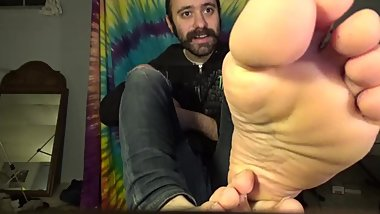 Shoe Sock Foot Worship Alpha Cash Master