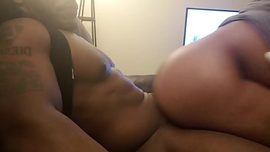 Reverse Cowgirl On The Couch