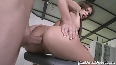 FIRSTANALQUEST.COM - KATE RICH IS GETTING HER ROCKS OFF FROM ASSFUCKING