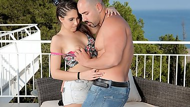 Teamskeet - I Fucked This Latina On My Balcony