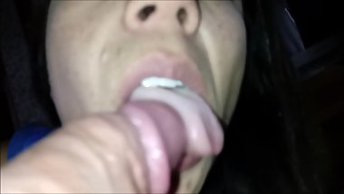 Latin Beauty Sucking Head Cock HD Argentina Chupa pija