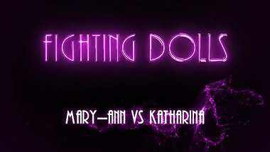 Nude Boxing! KATHARINA VS MARY-ANN - FIGHTING DOLLS - [FD3099] - Sample