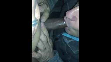 Sucking in Indian uncircumcised cock, and it tasted so good