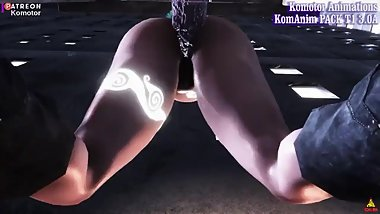 The Zombie Glory Hole  Komotor Animations  Skyrim Porn  3D Porn  Sounds