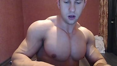 Muscle on cam (musclespycan on private)
