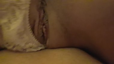 close up pussy wet panties