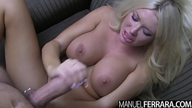 Manuel Ferrara - Summer Brielle Buxom Blonde Glazed