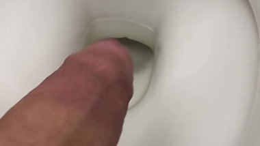 A quick CUM in the toilet - Needed Relief )