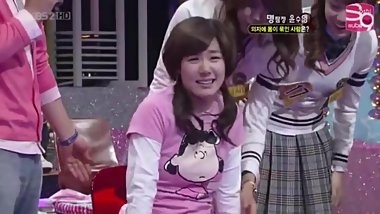 Korean game show tickling