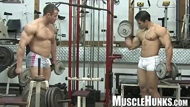 muscle hunks from Argentina