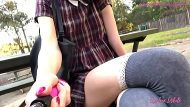 Public School Dress Upskirt