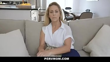horny big tits mom fucks stepson