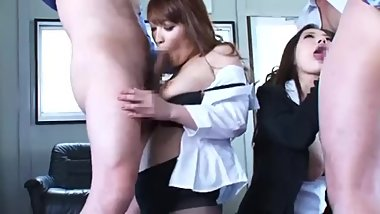 [SOE-681] Secret investigator Anri, Kokomi, and Ruri cumbucket orgy bukkake