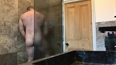 Caught step brother using my shower - Full Video