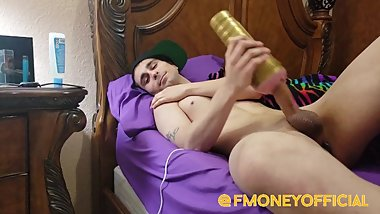 F Money Solo Masturbation Fleshlight Anal Toy