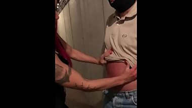 Mistress Red Devil Belly Punching Punishment