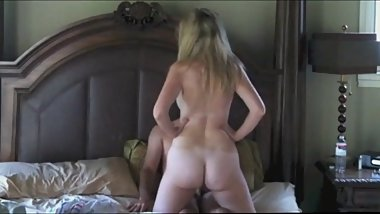 Homemade Amateur Cowgirl Riding Compilation