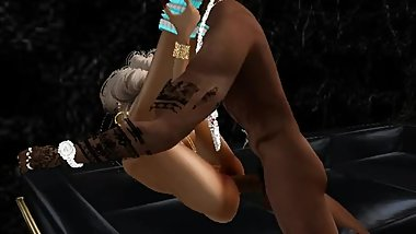 MARIED BLONDE CHEATING HIS HUSBAND WITH BLACK DUDE 2 - IMVU