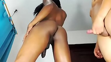 www.shemale4ever.com ebony trans girl fucked 480p