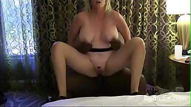 Blonde Milf Interracial Fucking