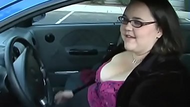 Big fatty woman is feeling fat dick in throat and cunt