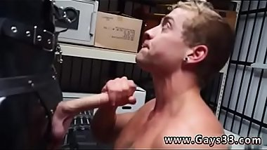 Xxx slim school gay sex Dungeon master with a gimp