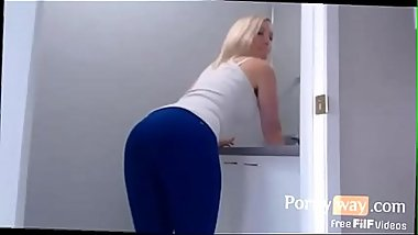 Mom Get Stuck and Son Takes Advantage - FREE Mother Videos at PornyWay.com