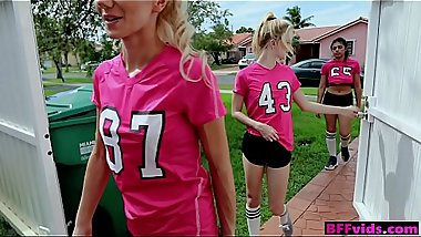 College girls playing soccer &amp_ having group sex