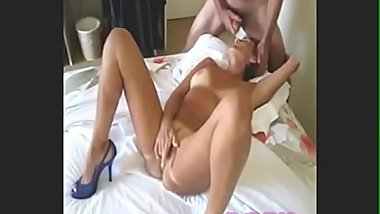 Sexy girl mouth fucking