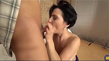 Stunning mature moms fuck lucky sons part 2