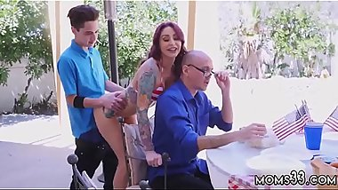 Guy fuck best compeers mom anal Awesome 4th Of July Threesome