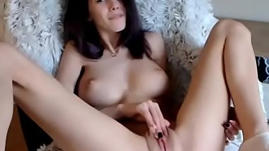 Romanian Hottie with Perfect Natural Tits Cums and Squirts 2 more on realwhores.tk