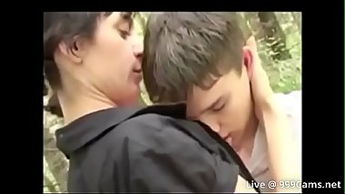 mom fuck son in the forest