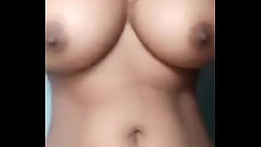 Tamil village wife amutha show her full body &amp_ hairy pussy to her husband leaked on net