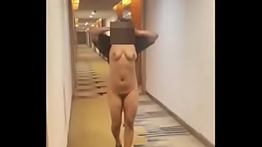 One lucky subsciber dare my desi wife to stip in hotel....well she did
